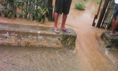 Inundaciones en Baracoa